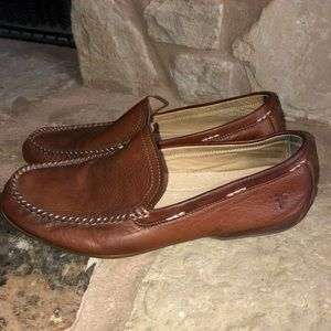 Frye Lewis Venetian Driving Loafers Shoes Sz 11.5